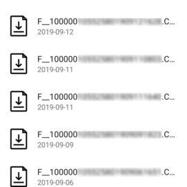 SDMobile fichiers légaux